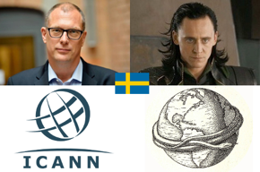 Swedish, Goran Marby, ICANN, Loki, world serpent.